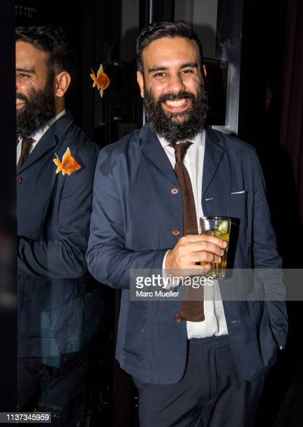 Alireza Golafshan attends at the after show party of the premiere of the movie 'Goldfische' at Mathaeser Filmpalast on March 13 2019 in Munich Germany