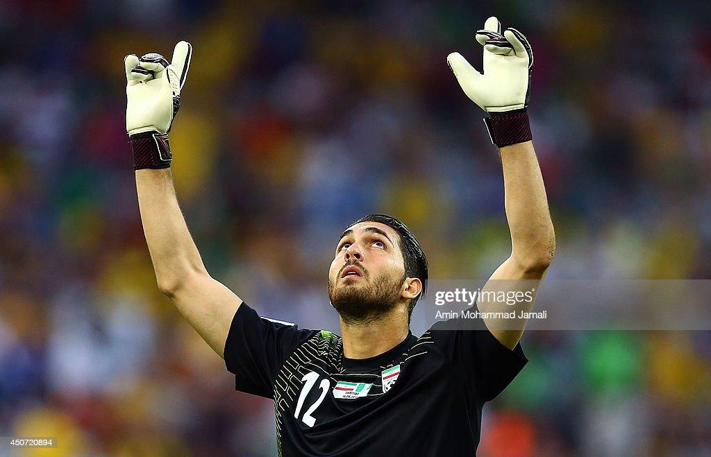 Iran v Nigeria: Group F - 2014 FIFA World Cup Brazil