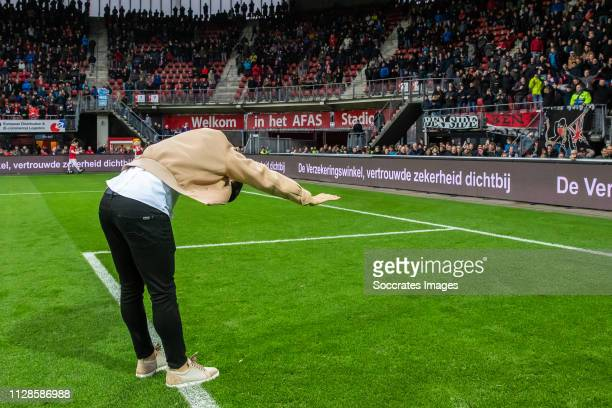 Alireza Jahanbakhsh during the Dutch Eredivisie match between AZ Alkmaar v Fortuna Sittard at the AFAS Stadium on March 3 2019 in Alkmaar Netherlands