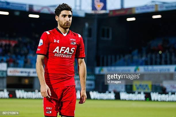 Alireza Jahanbakhsh of AZ Alkmaar during the Dutch Eredivisie match between PEC Zwolle and AZ Alkmaar at the IJsseldelta stadium on December 13 2015...