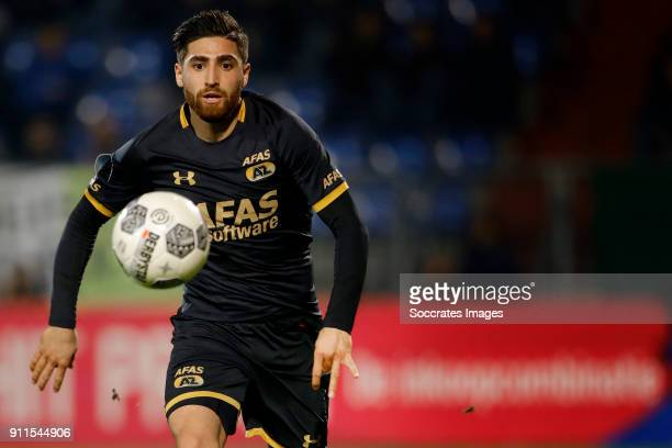 Alireza Jahanbakhsh of AZ Alkmaar during the Dutch Eredivisie match between Willem II v AZ Alkmaar at the Koning Willem II Stadium on January 28 2018...