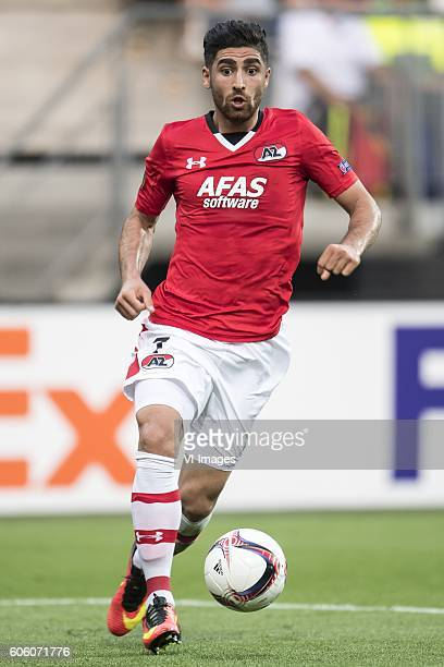 Alireza Jahanbakhsh of AZ Alkmaar during the UEFA Europa League group D match between AZ Alkmaar and Dundalk FC on September 15 2016 at the AFAS...
