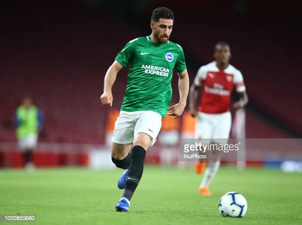 Alireza Jahanbakhsh of Brighton amp Hove Albion FC during Premier League 2 match between Arsenal Under 23s and Brighton and Hove Albion Under 23s at...