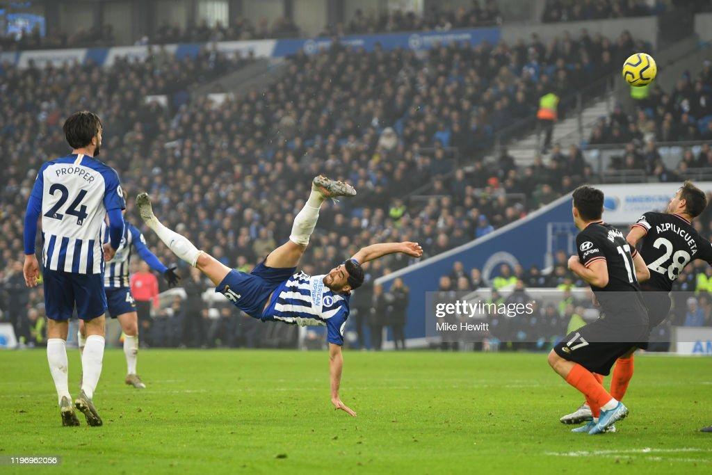 Brighton & Hove Albion v Chelsea FC - Premier League : Nieuwsfoto's