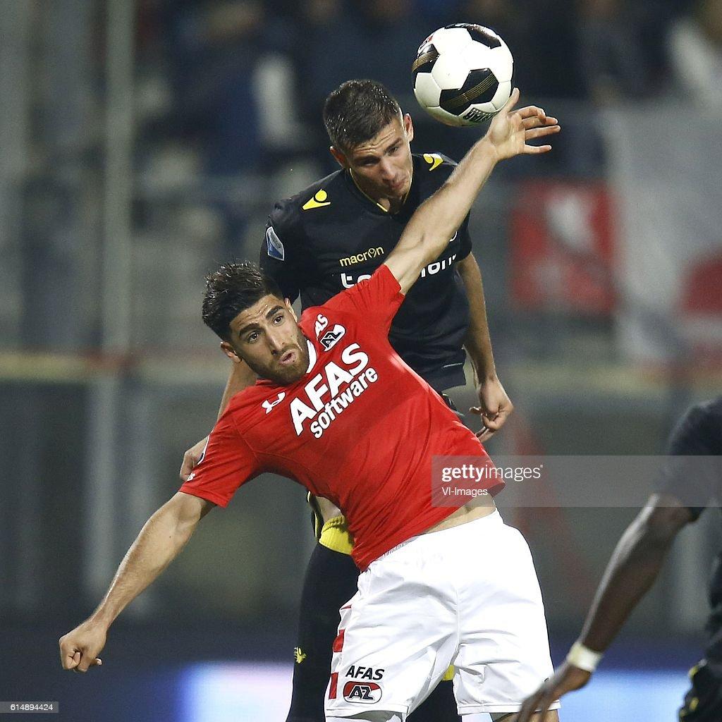 """Dutch Eredivisie""""AZ Alkmaar v Vitesse Arnhem"""" : News Photo"""