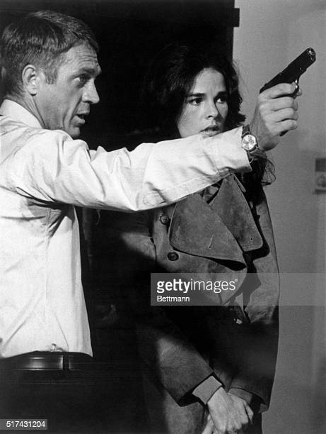Ali's a 'killer' Steve McQueen shows Ali MacGraw how to handle a gun in San Marcos during filming of The Getaway Ali spent about six weeks carrying a...
