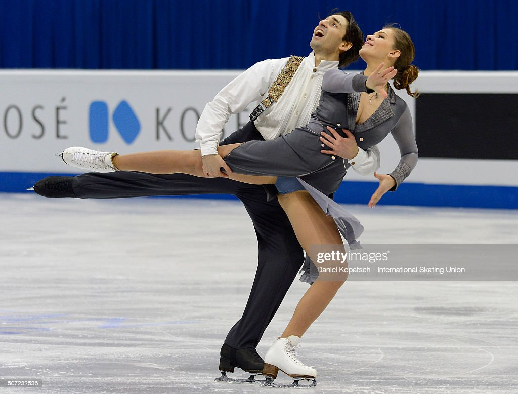 European Figure Skating Championships 2016  - Day 2