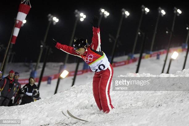Alisa Camplin AUS Frauen Aerials Freestyle Sprung Finale olympische Winterspiele in Turin 2006 olympic winter games in torino 2006