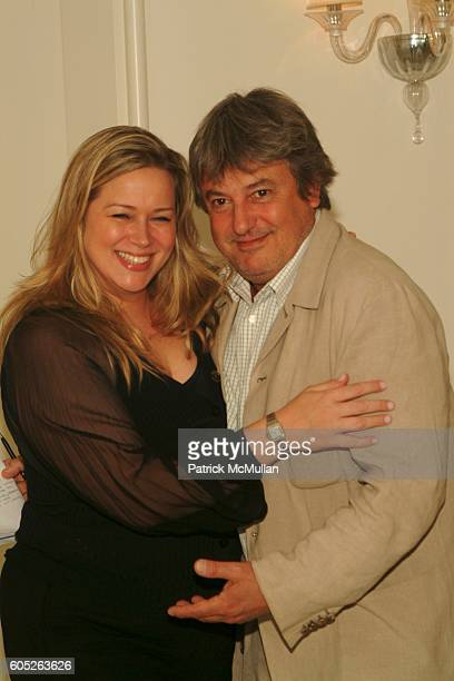 Alisa Greco and Remy Gomez attend Launch of Jean Paul Gaultier's Fragrance Gaultier 2 at Gaultier Showroom on May 23 2006 in New York City