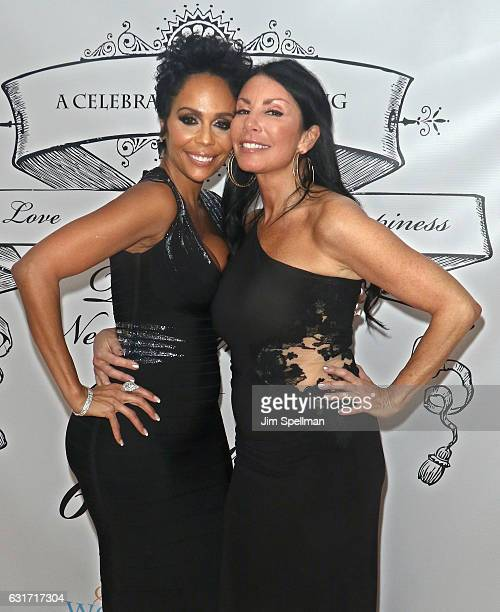 Alisa Maria and TV personality Danielle Staub attend Staub's housewarming party on January 14 2017 in Edgewater New Jersey