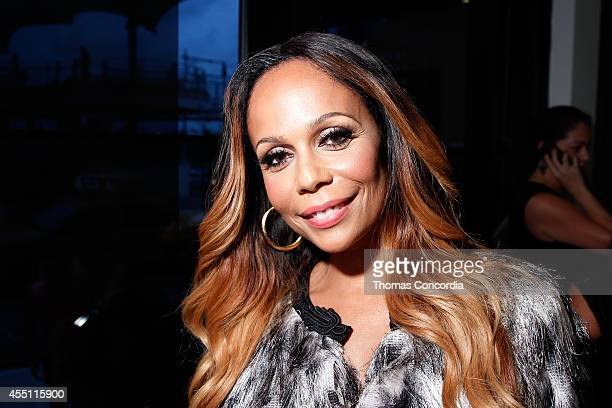 Alisa Maria attends Angela Simmons Presents Back To Basics STYLE360 Spring/Summer 2015 Collections on September 9 2014 in New York City