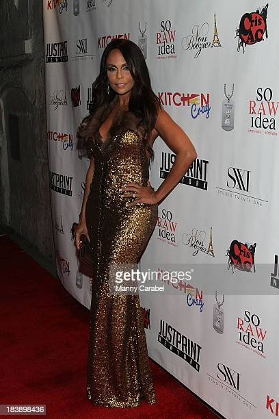 Alisa Maria attends the series premiere of 'King on 34th' at Studio XXI on October 9 2013 in New York City
