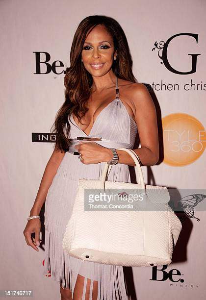 Alisa Maria attends the STYLE360 presents Gretchen Christine Collection by Gretchen Rossi Preview Party at Kiss Fly on September 10 2012 in New York...