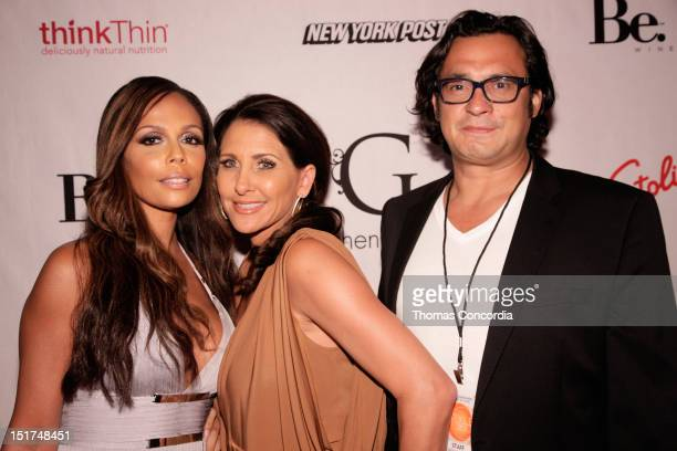 Alisa Maria Heather Robinson and guest attend the STYLE360 presents Gretchen Christine Collection by Gretchen Rossi Preview Party at Kiss Fly on...