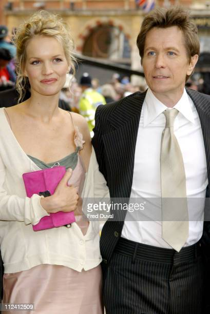 Alisa Marshall and Gary Oldman during Harry Potter and the Prisoner of Azkaban London Premiere Arrivals at Leicester Square in London Great Britain