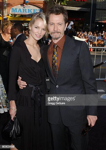 Alisa Marshall and Gary Oldman