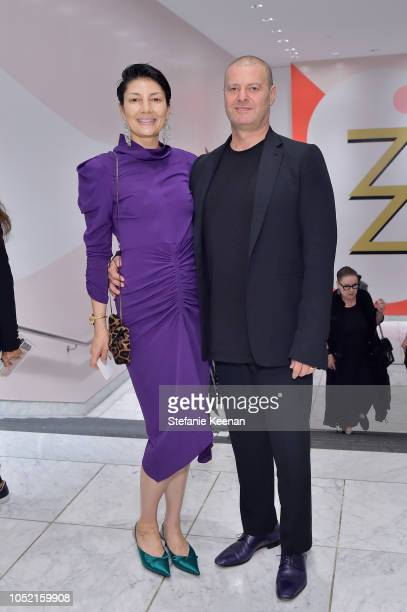 Alisa Ratner and Kevin Ratner attend the Hammer Museum 16th Annual Gala in the Garden with generous support from South Coast Plaza at the Hammer...