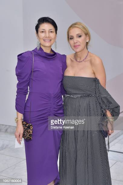 Alisa Ratner and Manuela Herzer attend the Hammer Museum 16th Annual Gala in the Garden with generous support from South Coast Plaza at the Hammer...