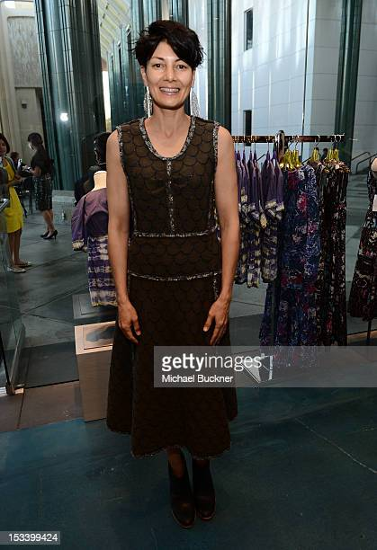 Alisa Ratner attends the Director's Circle Celebration of WEAR LACMA Inaugural Designs by Johnson Hartig For Libertine And Gregory Parkinson at LACMA...