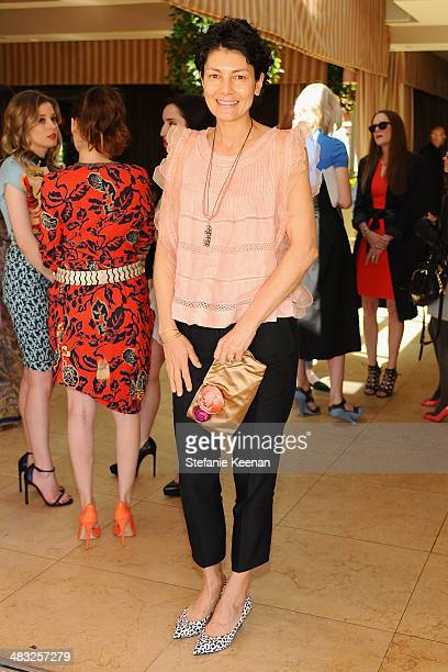 Alisa Ratner attends Vogue Lunch In Celebration Of The Etro Spring Collection Hosted By Sally Singer at Sunset Tower Hotel on April 3 2014 in West...