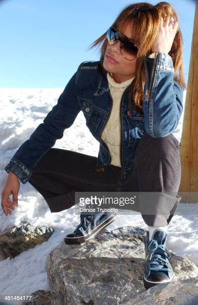 Alisa Reyes during 2004 Park City Levi's House at Levi's House in Park City Utah United States