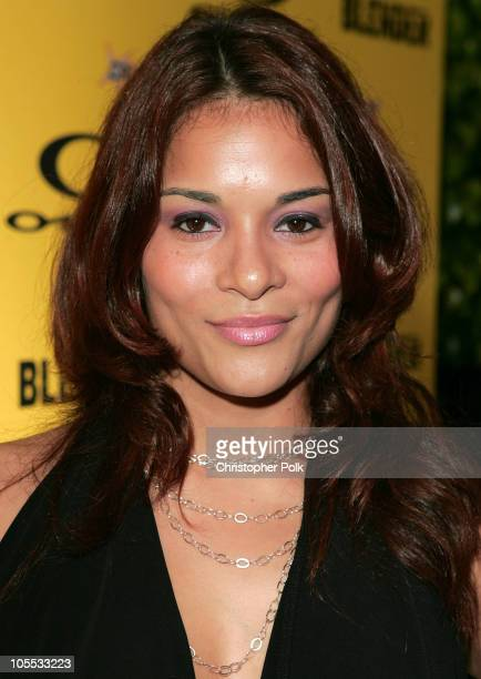 Alisa Reyes during Blender/Oakley X Games Party - Arrivals at The Key Club in Los Angeles, California, United States.