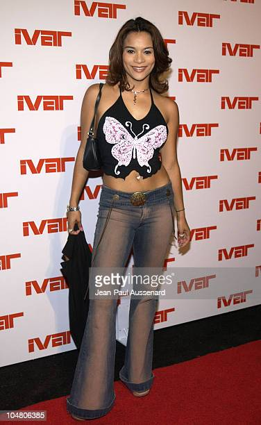 Alisa Reyes during Ivar Nightclub Grand Opening Party at Ivar Nightclub in Hollywood California United States