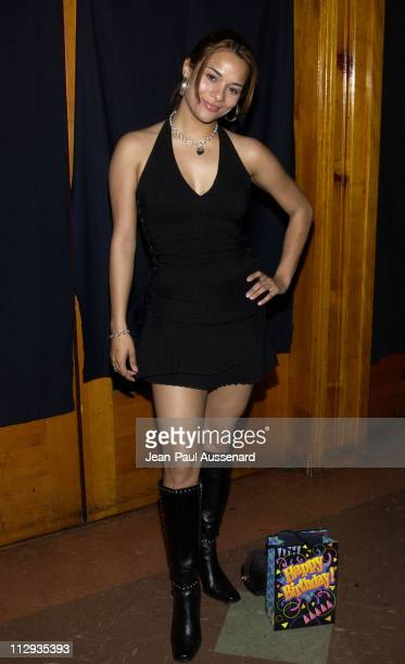 Alisa Reyes during Melissa Balin's Birthday Party at Club 1650 at Club 1650 in Hollywood California United States