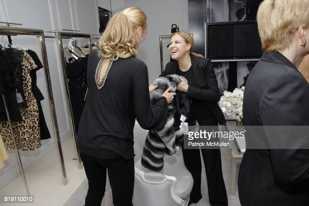 Alisa Roever and attend DIOR and CHRISTIE'S Celebrate International Women's Day at Christian Dior on March 8 2010 in New York City
