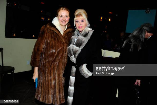 Alisa Roever and Ivana Trump attend Cheri Kaufman's Birthday at Kaufman Astoria Studios on November 29 2018 in the Queens borough of New York City