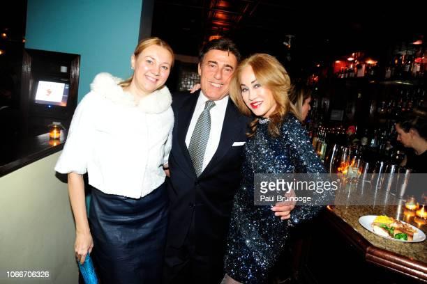 Alisa Roever Arnie Rosenshein and Lucia Hwong Gordon attend Cheri Kaufman's Birthday at Kaufman Astoria Studios on November 29 2018 in the Queens...