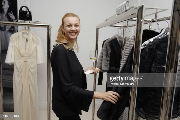 Alisa Roever attends DIOR and CHRISTIE'S Celebrate International Women's Day at Christian Dior on March 8 2010 in New York City