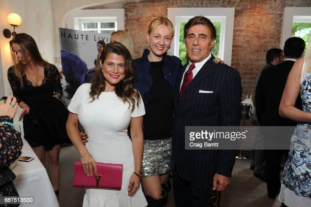 Alisa Roever attends Haute Livings celebration of Debra Messing with Bertaud Belieu Rose at MAMO on May 23 2017 in New York City