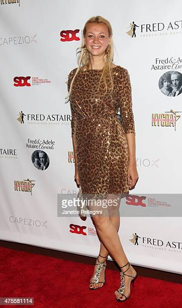 Alisa Roever attends the 33rd Annual Fred And Adele Astaire Awards at Jack H Skirball Center for the Performing Arts on June 1 2015 in New York City