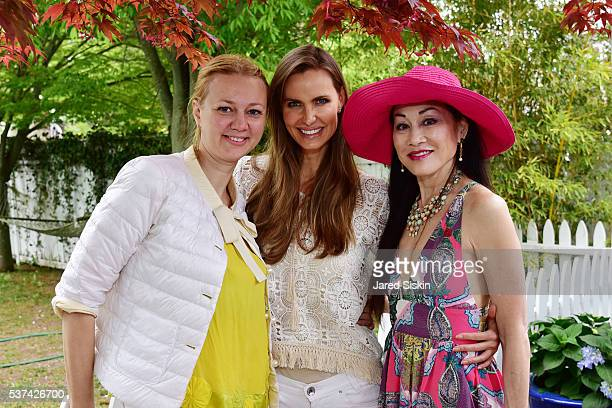 Alisa Roever Cynthia Ott and Lucia Hwong Gordon attend AVENUE On The Beach Kicks Off Summer 2016 at Kozu on May 29 2016 in Southampton NY