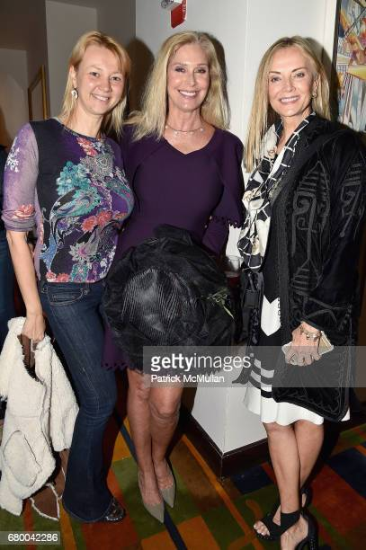 Alisa Roever Dara Sowell and Bonnie Pfeifer Evans attend the Kentucky Derby Party New York City at Le Cirque on May 6 2017 in New York City