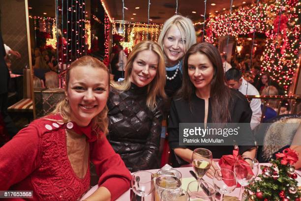 Alisa Roever Janna Bullock and attend Christmas Luncheon at Doubles with Janna Bullock among hostesses at The Doubles Club on December 6 2010 in New...