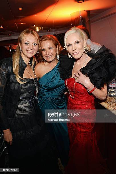 Alisa Roever Michele Rella and Executive producer Michele Herbert attend the Seduced and Abandoned Premiere and After Party during the 66th Annual...