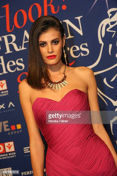 Alisar Ailabouni attends the Look Women Of The Year Awards 2015 at the city hall on November 17 2015 in Vienna Austria