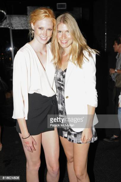 Alise Shoemaker and MariaTheresia attend Le Bain Opening at The Standard New York on June 23 2010