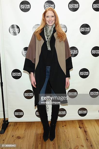 Alise Shoemaker attends 2nd Time Around Presents Pardon Our French at 2nd Time Around on March 3 2016 in New York City