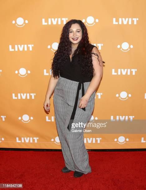 Alisha Beston attends Trip 'R' Treat with LIVIT LA's Largest Live Streaming Competition on October 30 2019 in Hollywood California