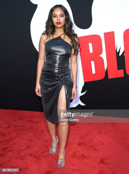 Alisha Boe arrives at the Universal Pictures' 'Blockers' Premiere at Regency Village Theatre on April 3 2018 in Westwood California