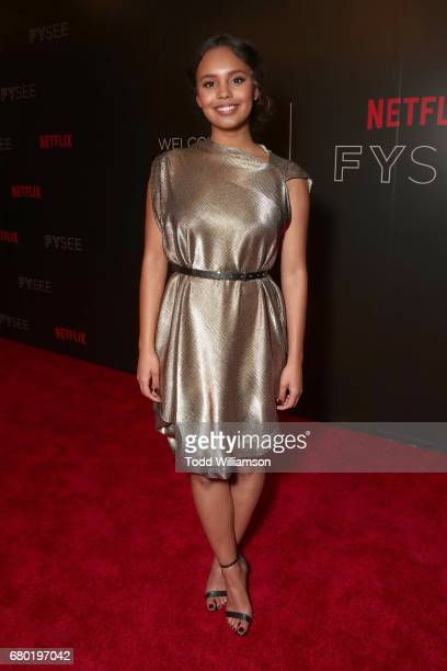 Alisha Boe attend Netflix's FYSEE KickOff Event at Netflix FYSee Space on May 7 2017 in Beverly Hills California