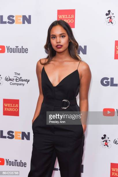 Alisha Boe attends 2017 GLSEN Respect Awards Arrivals at the Beverly Wilshire Four Seasons Hotel on October 20 2017 in Beverly Hills California