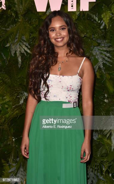 Alisha Boe attends Max Mara Women In Film Face of the Future at Chateau Marmont on June 12 2018 in Los Angeles California