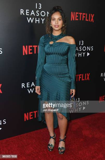 Alisha Boe attends #NETFLIXFYSEE Event For '13 Reasons Why' Season 2 at Netflix FYSEE At Raleigh Studios on June 1 2018 in Los Angeles California