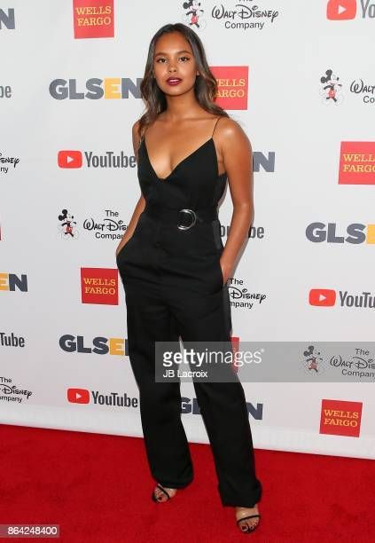 Alisha Boe attends the 2017 GLSEN Respect Awards on October 20 2017 in Los Angeles California