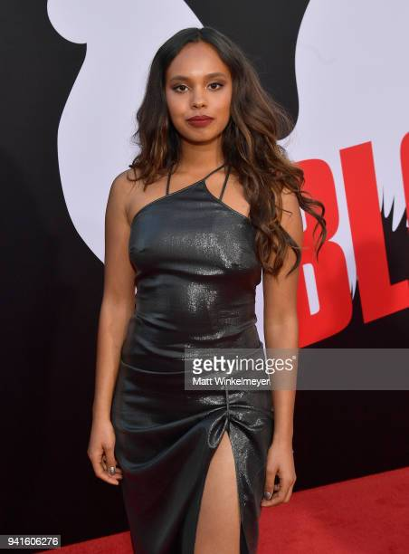Alisha Boe attends the premiere of Universal Pictures' 'Blockers' at Regency Village Theatre on April 3 2018 in Westwood California