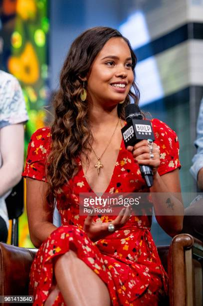 Alisha Boe discusses '13 Reasons Why' with the Build Series at Build Studio on May 22 2018 in New York City